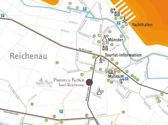 Insel Reichenau Karte.Pirmin S Keller Insel Reichenau Anfahrt